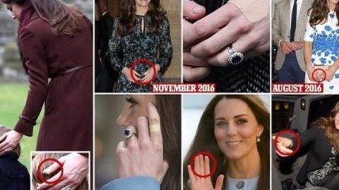 Γιατί η Κέιτ Μίντλετον έχει σχεδόν πάντα ένα τσιρότο στα δάχτυλά της;