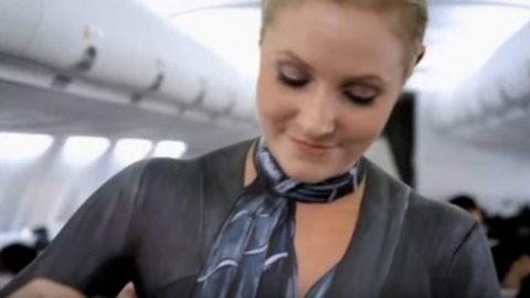 Απίστευτο: Η αεροπορική εταιρεία με τις γυμνές αεροσυνοδούς (ΒΙΝΤΕΟ)