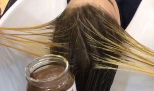Θα μας τρελάνουν! Κομμωτές χρησιμοποιούν… πραλίνα για να βάψουν μαλλιά!