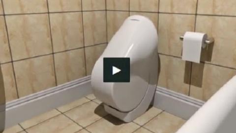 Αυτή είναι η τουαλέτα του μέλλοντος! (ΒΙΝΤΕΟ)