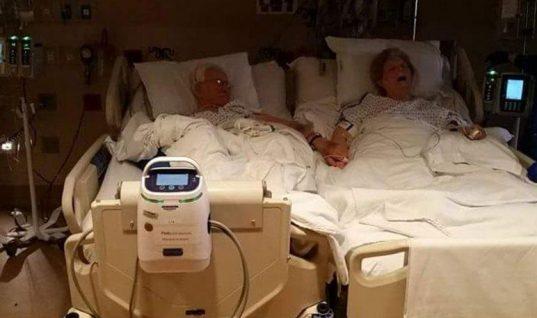 Συγκλονιστικό: Έζησαν μαζί 64 χρόνια και «έσβησαν» κρατώντας ο ένας το χέρι του άλλου