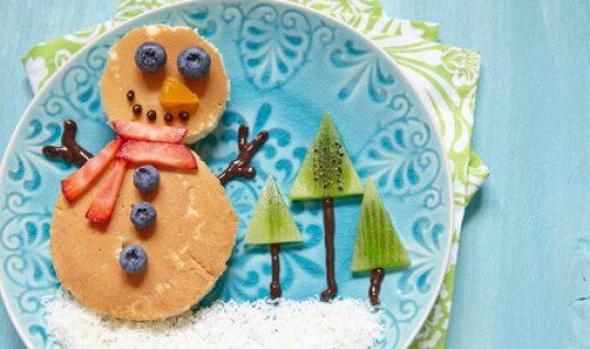 Τρέξτε στην κουζίνα: Πως να φτιάξετε αυτό τον πανέμορφο χιονάνθρωπο σε πέντε λεπτά μαζί με τα παιδιά σας