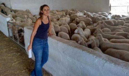 Το τόλμησε: H ιστορία της 31χρονης Μαριάννας που από ηθοποιός στο Λονδίνο έγινε κτηνοτρόφος στο Αιτωλικό!