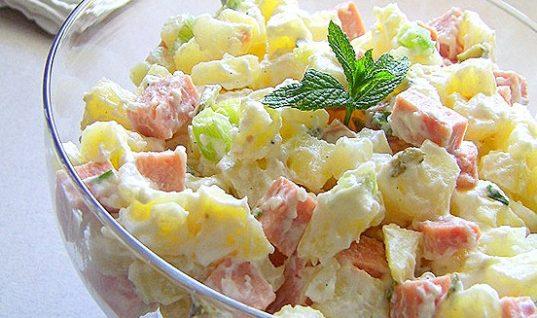 Συνταγή: Πατατοσαλάτα με πάριζα και γιαούρτι!