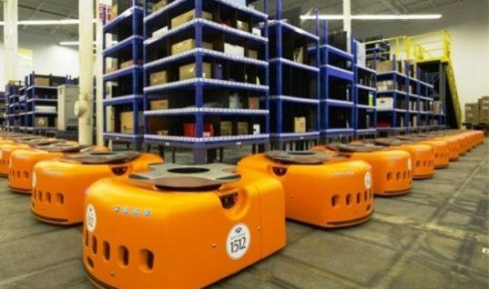 Είναι γεγονός: 45.000 ρομπότ εργάζονται πλέον στις αποθήκες της Amazon! (vid)