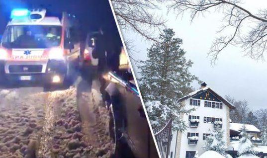 Τρομακτικά καιρικά φαινόμενα: Χιονοστιβάδα στην Ιταλία παρέσυρε ξενοδοχείο!