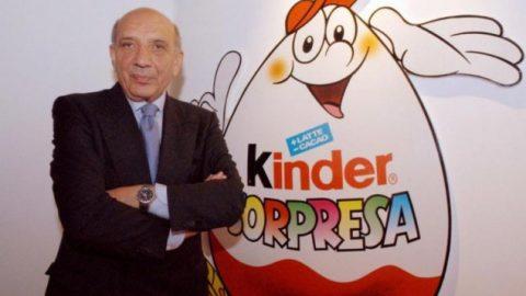 Πέθανε ο δημιουργός των αυγών Kinder