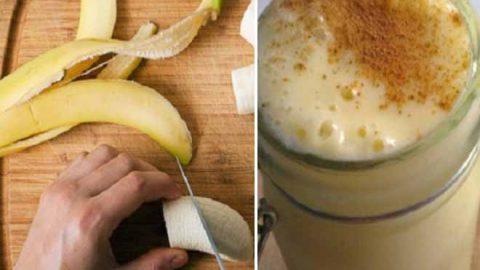 Βράσε μπανάνα και κανέλα πιες το ζουμί λίγο πριν τον ύπνο και θα μας θυμηθείς!