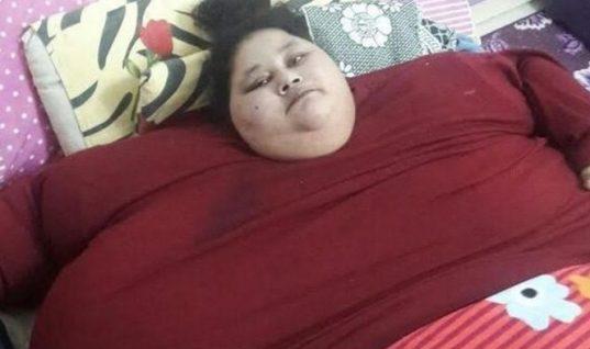 Με ειδική πτήση μεταφέρεται στην Ινδία για χειρουργείο η πιο παχύσαρκη γυναίκα στον κόσμο!
