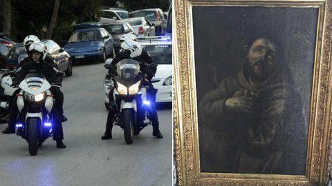 Θρίλερ: Πίνακα του Ελ Γκρέκο σε Έλληνα επιχειρηματία φέρεται να βρήκε η ΕΛΑΣ ;