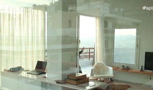 Η απίστευτη θέα από το ρετιρέ του ηθοποιού Μάνου Γαβρά στο Λυκαβηττό!