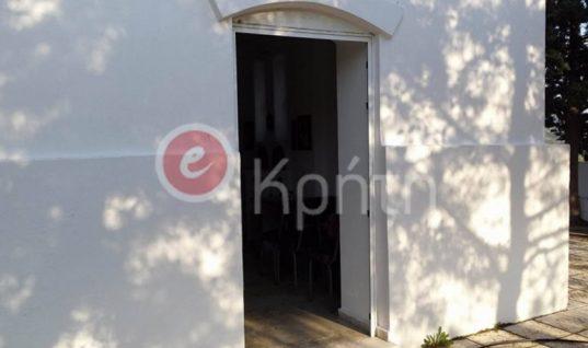 Έγινε κι αυτό: Έκλεψαν την πόρτα από εκκλησία της Κρήτης!