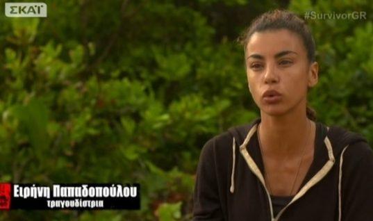 Survivor: Ξέσπασε σε κλάματα η Ειρήνη Παπαδοπούλου αποχωρώντας! Η συμβουλή στους «Διάσημους»