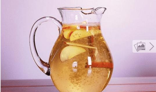 Νερό κανέλας με μήλο και λεμόνι για αδυνάτισμα!