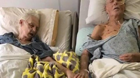 Συγκλονιστική φωτογραφία: Μετά από 60 χρόνια κοινής ζωής, πέθαναν κρατώντας ο ένας το χέρι του άλλου