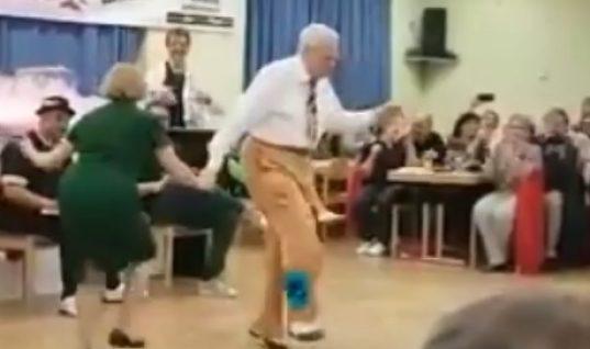 Ζευγάρι ηλικιωμένων χορεύουν σαν επαγγελματίες και ξετρελαίνουν το διαδίκτυο