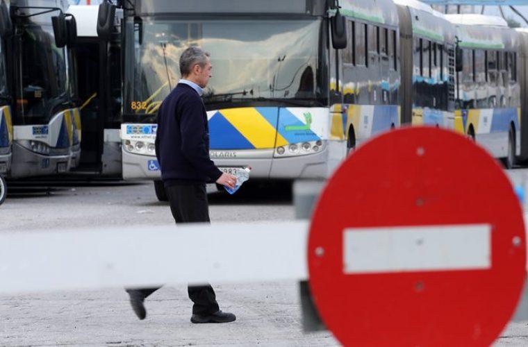 Εβδομάδα ταλαιπωρίας για τους Αθηναίους: Στάσεις εργασίας στα λεωφορεία 16 με 18 Μαΐου