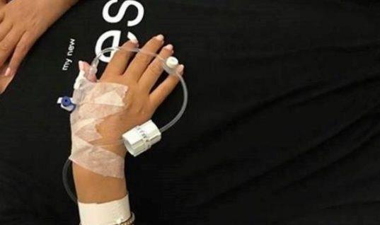 Στο νοσοκομείο πασίγνωστη ελληνίδα τραγουδίστρια: Η φωτογραφία και το μήνυμα