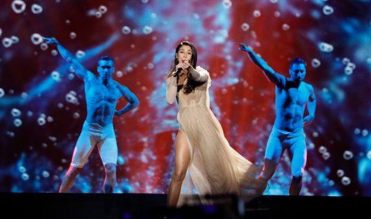 «Μάγεψε» η Demy στον ημιτελικό της Eurovision! (vid)