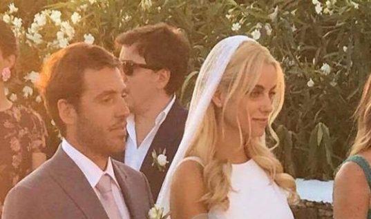 Η Δούκισσα Νομικού δημοσίευσε την πιο τρυφερή φωτογραφία του γάμου της! Δείτε την