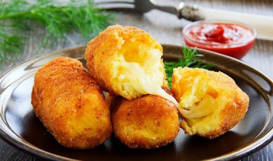 Συνταγή για κροκέτες πατάτας!