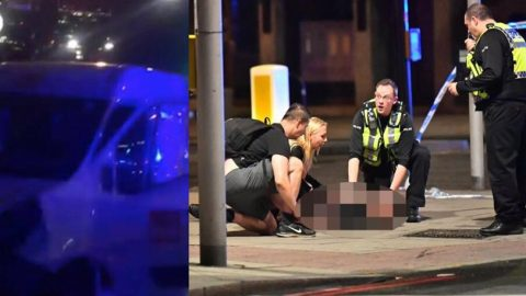 Διπλό τρομοκρατικό χτύπημα στο Λονδίνο: Έξι τα θύματα – Νεκροί και οι τρεις τρομοκράτες