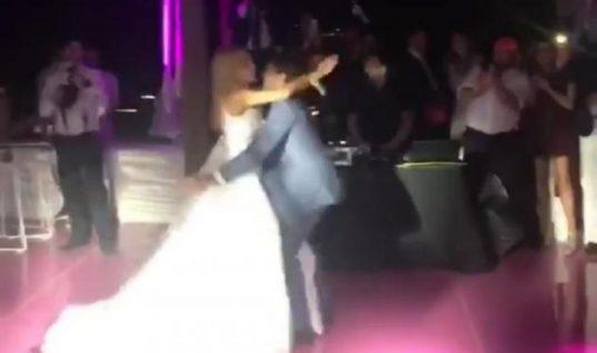 Νομικού-Θεοδωρίδης: Εικόνες και βίντεο από την δεξίωση του γάμου τους στην Μύκονο!