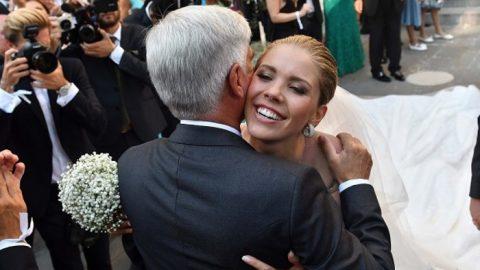 Παντρεύτηκε η κόρη του Swarovski! Δείτε το νυφικό των 46 κιλών με τους 500.000 κρυστάλλους!