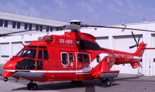Χαλκιδική : Αεροδιακομιδή για δύο παιδάκια που τραυματίστηκαν σε τροχαίο