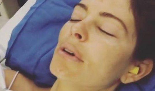 Το συγκλονιστικό βίντεο με τη Μαρία Μενούνος αμέσως μετά το 7,5 ωρών χειρουργείο