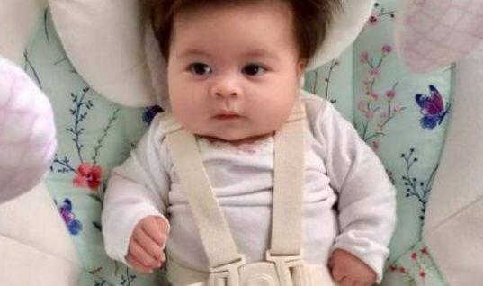Τα μαλλιά αυτού του μωρού, έχουν τρελάνει πραγματικά το διαδίκτυο!