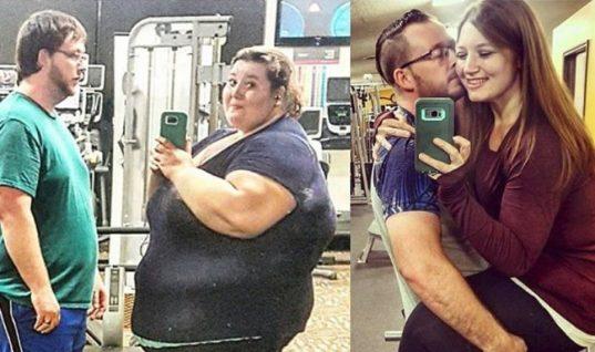 Zευγάρι έχασε 178 κιλά σε ενάμιση χρόνο και κάνει το γύρο του διαδικτύου!
