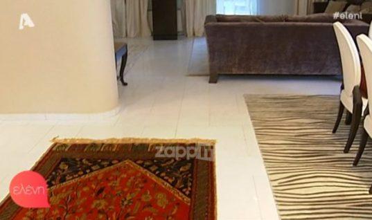 Τι χαλιά έχει στο σπίτι της η Δέσποινα Μοιραράκη; Δείτε το εντυπωσιακό «παλάτι» της