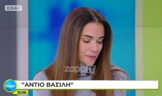 Βασίλης Μπεσκένης: Ξέσπασε σε κλάματα η Άννα Μπουσδούκου για τον φίλο και συνεργάτη της