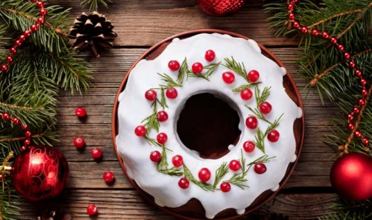 Κέικ σοκολάτας χριστουγεννιάτικο!