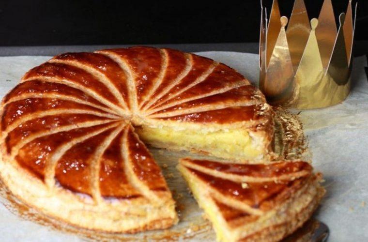 Η γαλλική βασιλόπιτα με φύλλο θα ξετρελάνει τους καλεσμένους σου το βράδυ της Πρωτοχρονιάς!