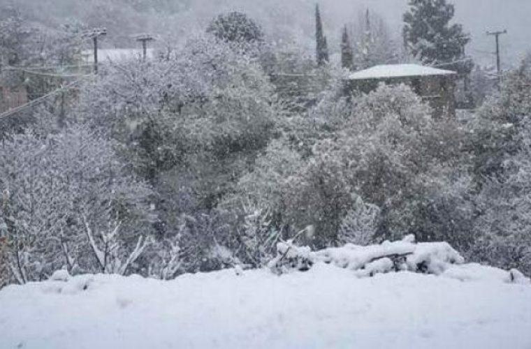 Επιδείνωση του καιρού – Χιονοπτώσεις και καταιγίδες από την Παρασκευή