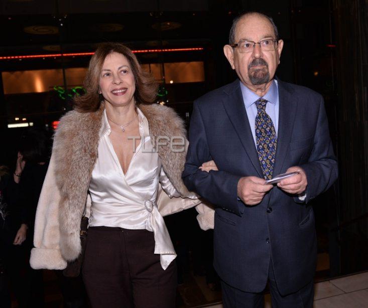 'Eφη Πίκουλα: Σπάνια βραδινή εμφάνιση με τον σύζυγό της Τάκη Βουγιουκλάκη! (εικόνες)