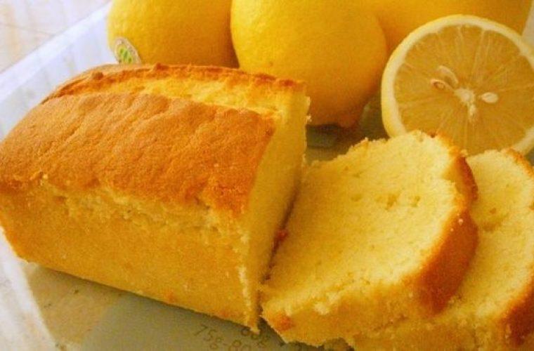 Κέικ λεμόνι χωρίς μίξερ!