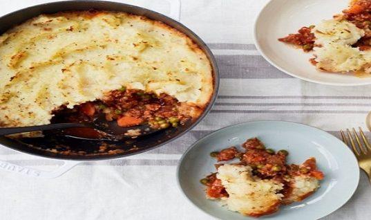 Πίτα του βοσκού με κιμά γαλοπούλας και λαχανικά!