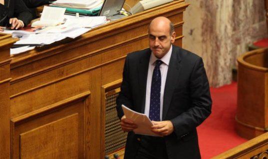 Στην Εντατική ο Γιώργος Βουλγαράκης μετά το τροχαίο στο Σύνταγμα