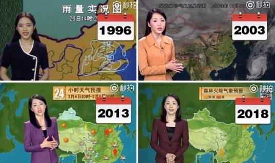 Αγέραστη εδώ και 22 χρόνια: Η Κινέζα παρουσιάστρια που κάνει τον κόσμο να απορεί και έγινε viral!