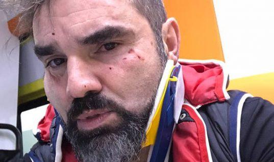 Θύμα επίθεσης έπεσε ο δημοσιογράφος Νάσος Γουμενίδης (vid)