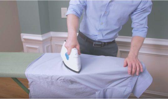 Πώς να σιδερώσετε τέλεια και χωρίς κόπο ένα πουκάμισο