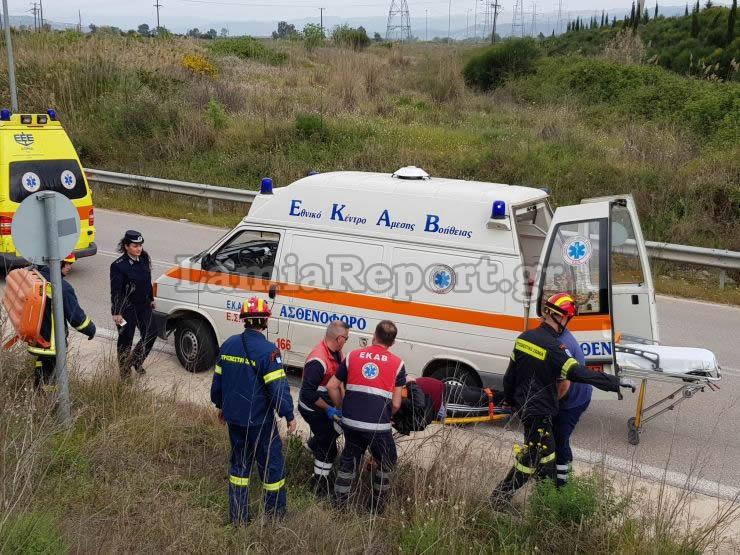Λαμία: Έπεσε σε γκρεμό 150μ. και βγήκε ζωντανός