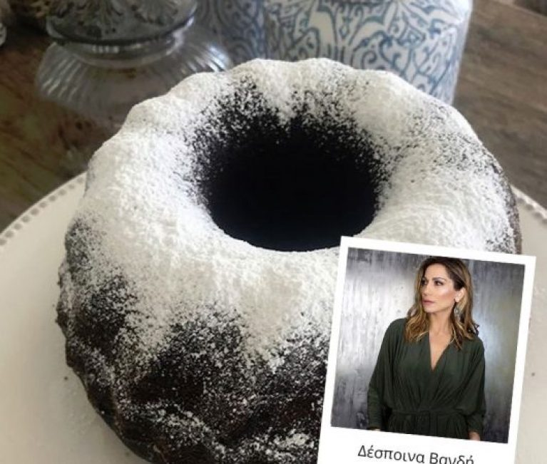 Η Δέσποινα Βανδή έφτιαξε το πιο εύκολο, νηστίσιμο κέικ σοκολάτας!