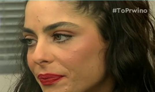 «Λύγισε» on camera η Μυριέλλα Κουρεντή- Μίλησε για τον θάνατο του συντρόφου της