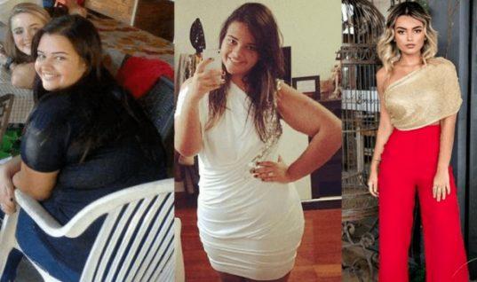 Η απίστευτη μεταμόρφωση μίας Βραζιλιάνας που έγινε viral -Εχασε 80 κιλά, από 140 πήγε 60! (εικόνες)