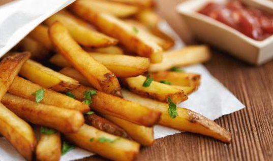 Η μυστική συνταγή για τραγανές τηγανιτές πατάτες!