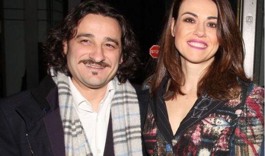 Ο Βασίλης Χαραλαμπόπουλος γιορτάζει την επέτειο γάμου του με μια αδημοσίευτη φωτογραφία
